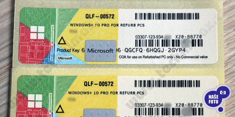 windows 10 refurbished license download