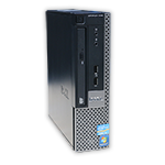 Počítač Dell OptiPlex 990 USFF Intel Core i5 2400S 2,5 GHz, 4 GB RAM DDR3, 250 GB HDD SATA, DVD-ROM, COA štítek Windows 7 PRO