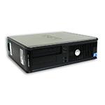 Počítač DELL OptiPlex 780 desktop Intel Core 2 Duo E8400 3,0 GHz, 4 GB RAM DDR3, 250 GB HDD SATA, DVD-ROM, COA štítek Windows 7 PRO