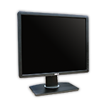 "LCD monitor 19"" Dell Professional P1913SB s kabelem"