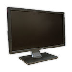 "LCD monitor 22"" Dell Professional P2211 s kabelem"