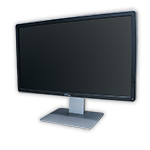 "LCD monitor 22"" Dell Professional P2214 IPS, 1920x1080, 16:9, VGA, DVI-D, DPort, kabeláž"