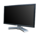 "LCD monitor 23"" Dell Professional P2311 s kabelem"