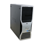 Počítač DELL Precision T5500 tower 2x Intel XEON Hexa Core X5650 2,66 GHz, 24 GB RAM DDR3, 1000 GB HDD, Quadro 4000, DVD-ROM, COA štítek Windows 7 PRO