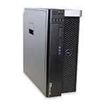 Počítač Dell Precision T5600 tower 2x Intel Xeon Hexa Core E5-2667 2,9 GHz, 16 GB RAM, 250 GB HDD, Quadro 2000, DVD-RW, COA štítek Windows 7 PRO