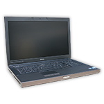 "Notebook Dell Precision M6700 Intel Core i7 3740QM 2,7 GHz, 8 GB RAM DDR3, 320 GB HDD, DVD-RW, 17"" FHD, AMD FirePro M6000, COA štítek Windows 7 PRO"