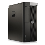 Počítač Dell Precision T3610 tower Intel Xeon Hexa Core E5-1650 v2 3,5 GHz, 16 GB RAM, 1000 GB HDD, Quadro K2000, DVD-RW, COA štítek Windows 8 PRO