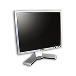 "LCD monitor 19"" Dell UltraSharp 1908FP s kabelem"
