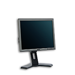 "LCD monitor 17"" Dell Professional P170S s kabelem"